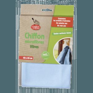 Chiffon microfibres Vitre